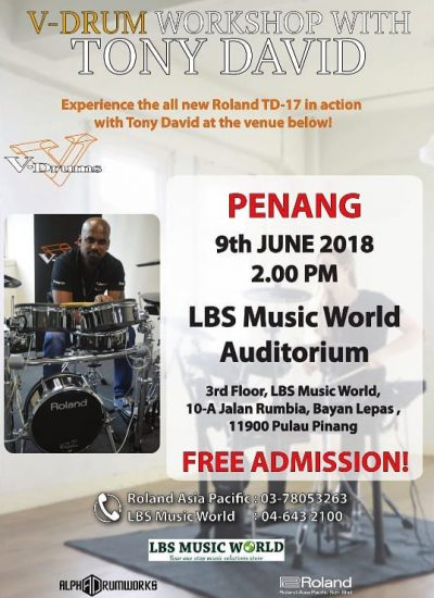 V-drum workshop